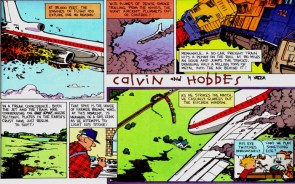 calvin and hobbes – terrible disaster