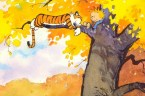 calvin and hobbes – tree rest