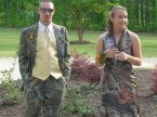 camo wedding cloths
