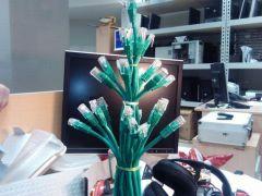 cat5 xmas tree