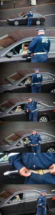 corrupt policeman