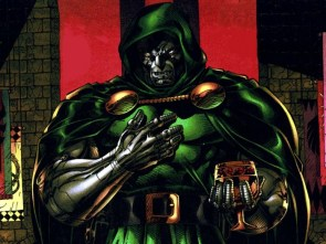 dr doom enjoys wine