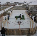 home made ice rink