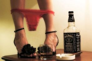 jack daniels gets the panies off