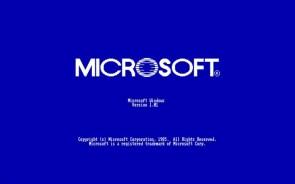 microsft v 1.01 load screen