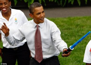 obama has a light saber – is he a sith lord