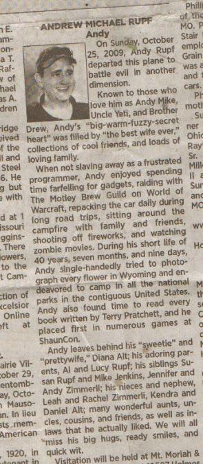 Truth in Obituaries