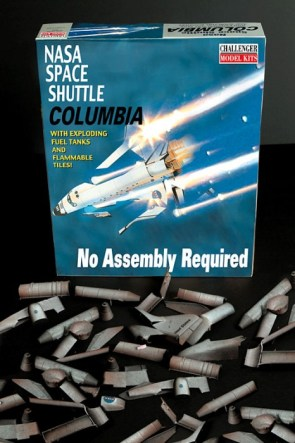 space shuttle columbia – no assembly required
