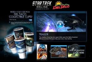 Del Taco Star Trek Online Tie in