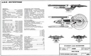 uss enterprise spec sheet
