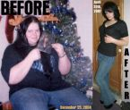 before and after weight lose
