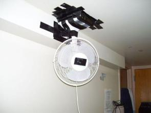 redneck ceiling fan