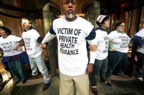 victim of private health insurance