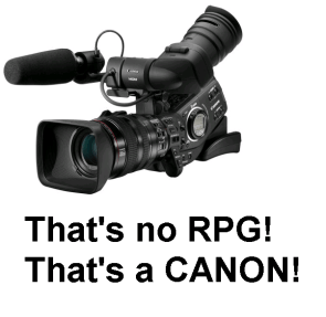 That's no RPG! That's a Canon!