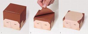 balding paper stack