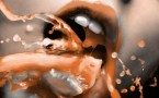 brown mouth splash