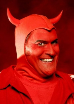 bruce campbell is the devil