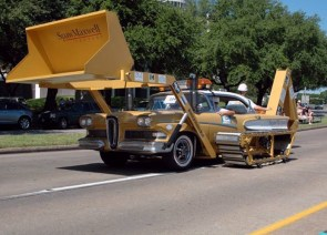 bulldozer Car Mod