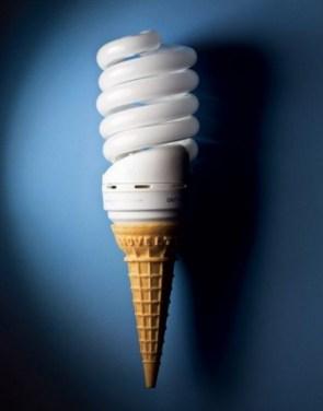 energy saving ice cream