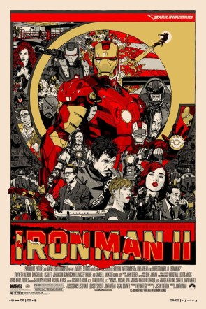 Super Punch: Iron Man posters by Tyler Stout and Mike Saputo
