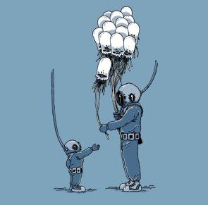 underwater balloons