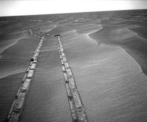 Looking Back Across Mars