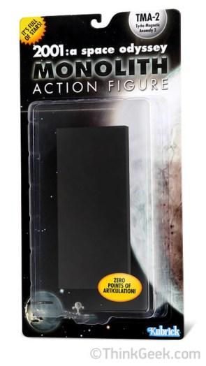 2001 – monolith action figure