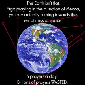 5 prayers a day, billions of prayers wasted