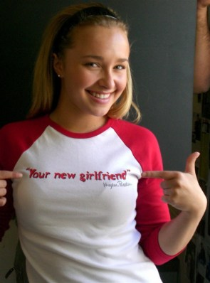 your new girlfriend