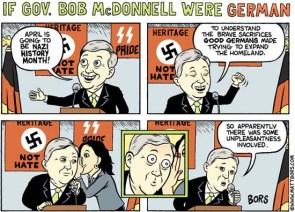 If Gov Bob McDonnell Were German