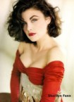 Sherilyn Fenn – busty in red