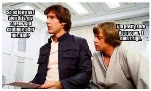 Star Wars scam