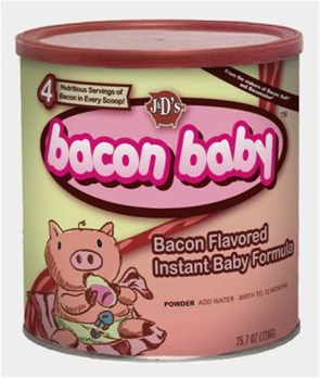bacon baby formula