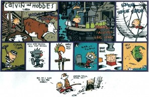 calvin and hobbes – typical school day