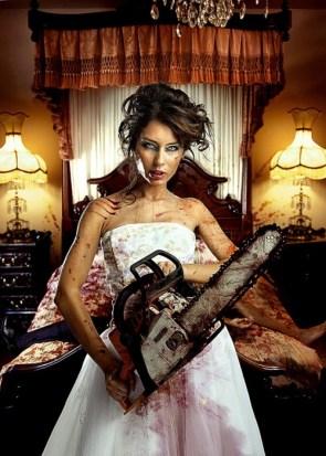 chainsaw bride