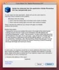 crash report for Adobe Photoshop CS4
