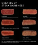 degrees of steak doneness