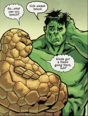 hulk smash bench