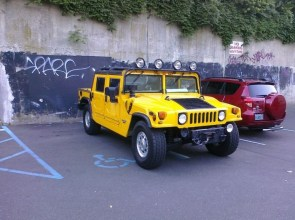 hummer douchebag