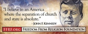 john f. kennedy – I believe in an america where the separation of church and state is absolute
