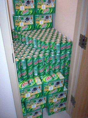 mountain dew closet