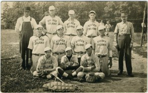 nigger island baseball team
