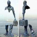 partial statue