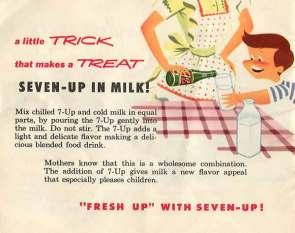 seven-up in milk