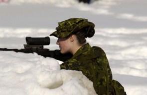 sexy snow sniper