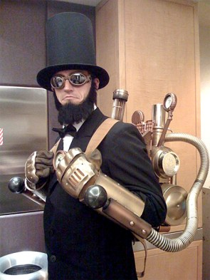 steam punk abe lincoln