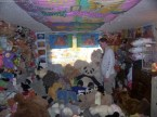 stuffed animal room