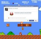 super mario facebook game