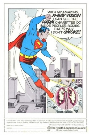 superman gives you xray cancer