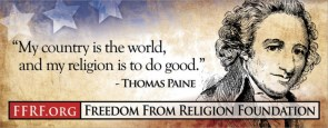 thomas paine – my country is the world, and my religion is to do good